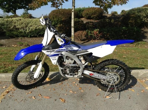 2016 Yamaha YZ250 F Photo 1 of 5