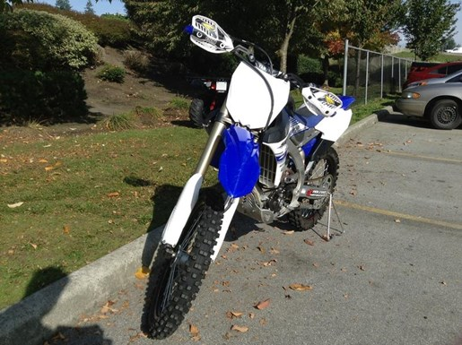 2016 Yamaha YZ250 F Photo 2 of 5