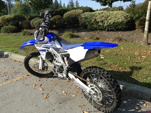 2016 Yamaha YZ250 F Photo 4 of 5