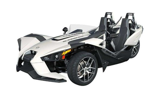 2019 Polaris SLINGSHOT SLR ICON MONUMENT WH Photo 1 of 2