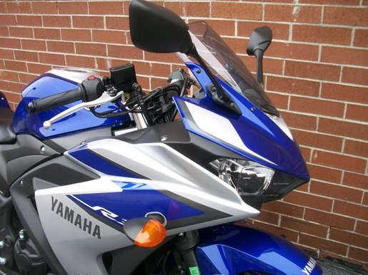 2015 Yamaha YZF-R3 Two-Tone Photo 4 of 36