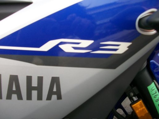 2015 Yamaha YZF-R3 Two-Tone Photo 7 of 36