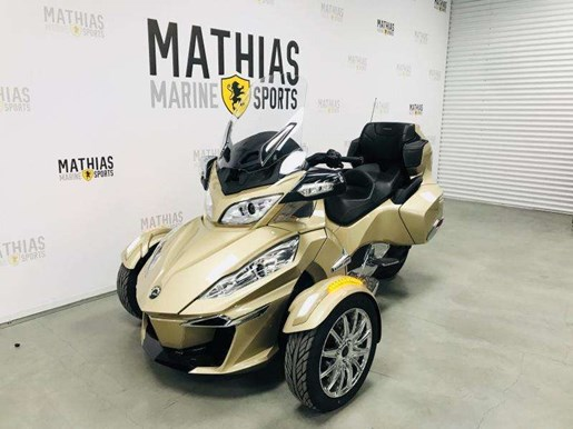 2017 Can-Am Spyder Rt Limited Photo 3 of 13