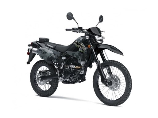 2019 Kawasaki KLX250 Digital Camo Photo 1 of 4