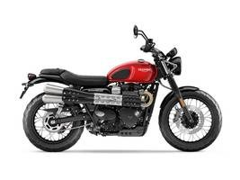 2019 Triumph Street Scrambler Cranberry Red Photo 1 of 1