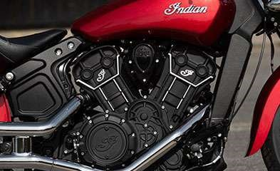 2019 INDIAN SCOUT SIXTY ABS RUBY METALLIC / 37$/sem Photo 4 sur 7