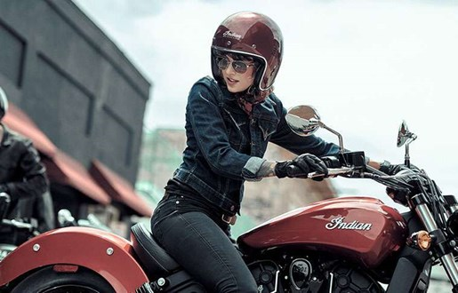 2019 INDIAN SCOUT SIXTY ABS RUBY METALLIC / 37$/sem Photo 5 sur 7