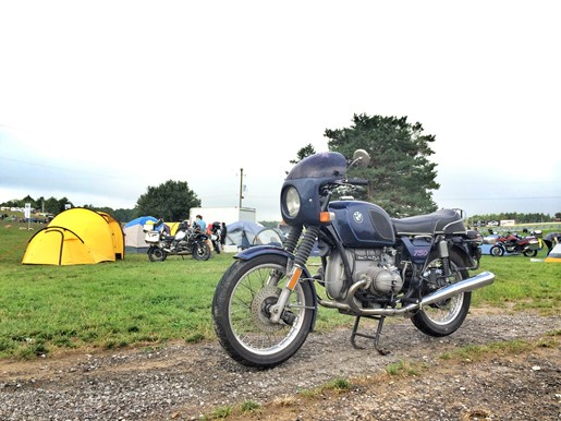 BMW Motorrad Summer Fest R75 With Tents