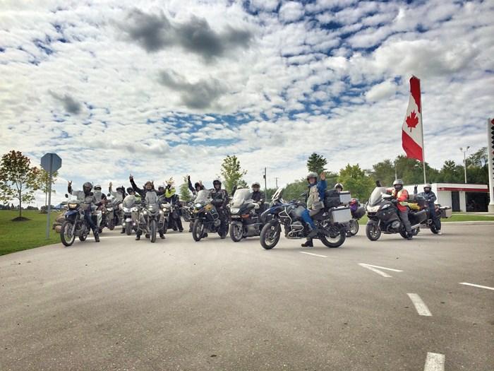 BMW Motorrad Summer Fest GroupRide