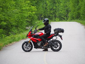 2017 BMW S 1000 XR Review on Algoma Loop by from side
