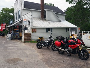 2017 BMW S 1000 XR Review on Algoma Loop country store