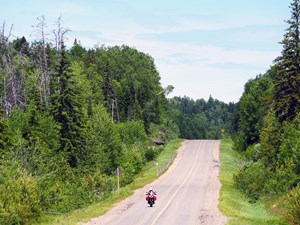 2017 BMW S1000XR review riding backroads of Algoma Country
