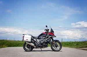 2017 Honda VFR1200X Review classic adv look