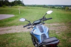 2017 Yamaha FZ-07 Motorcycle Review minimalist design