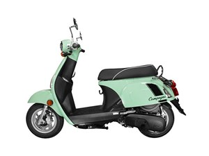 KYMCO compagno 110i scooter review side