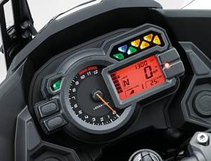 Kawasaki Versys 1000 review display