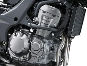 Kawasaki Versys 1000 review engine close up