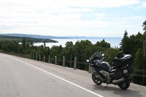 bmw K1600GTL open road