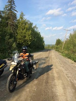 bmw f800 gsa dirt road ride