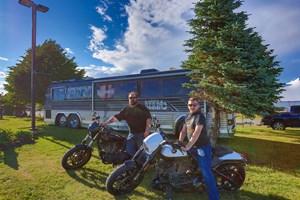 larry berrio bus and hd bikes (1)