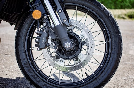 2017 Honda VFR1200X Review Braking System