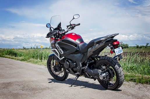 2017 Honda VFR1200X Review rear wheel