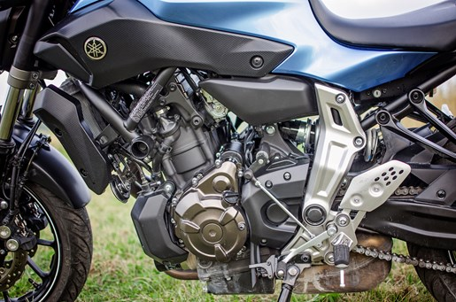 2017 Yamaha FZ-07 motorcycle Review twin engine