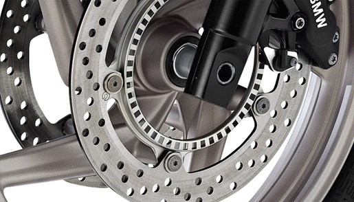 BMW Motorrad Brakes Close up
