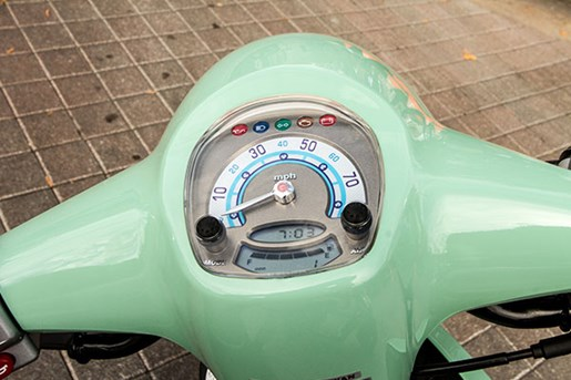 KYMCO compagno 110i scooter review odometer