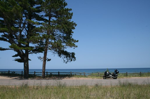 bmw K1600GTL lake superior