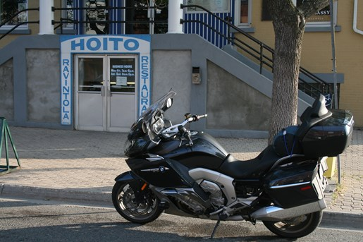 bmw K1600GTL motorcycle
