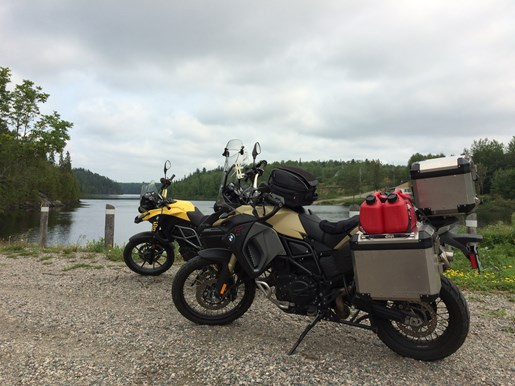 bmw f800 gsa lake