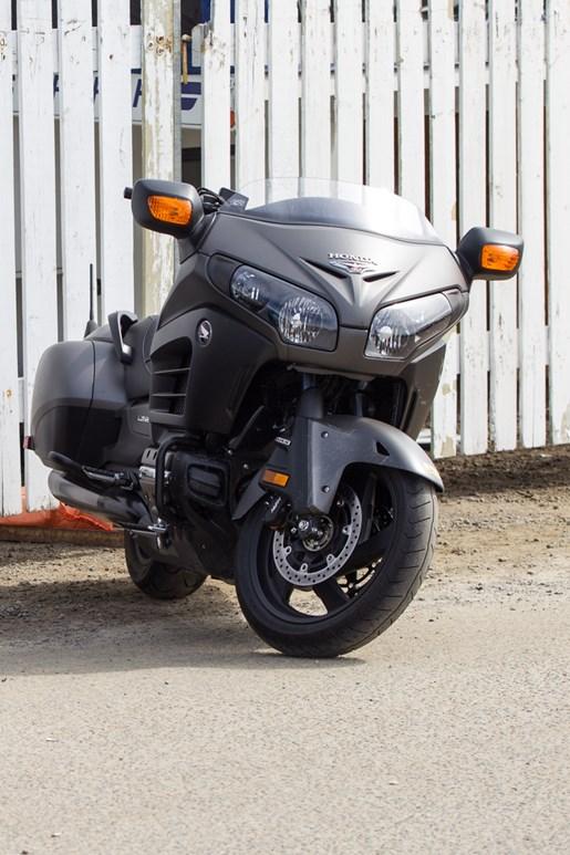 front honda motorcycle
