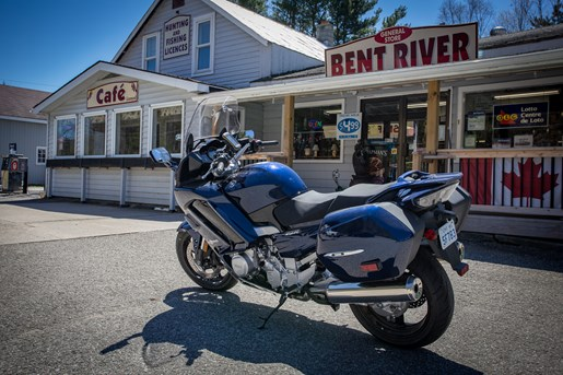 motorcycle touring bent river ontario