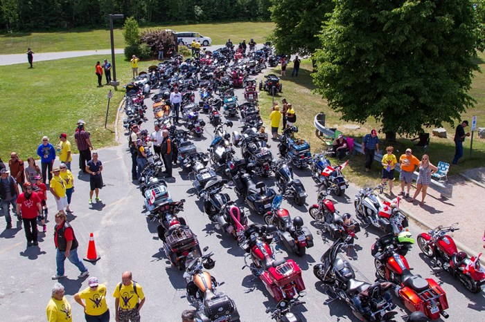 Bikers Reunion Temiskaming hospital (1)