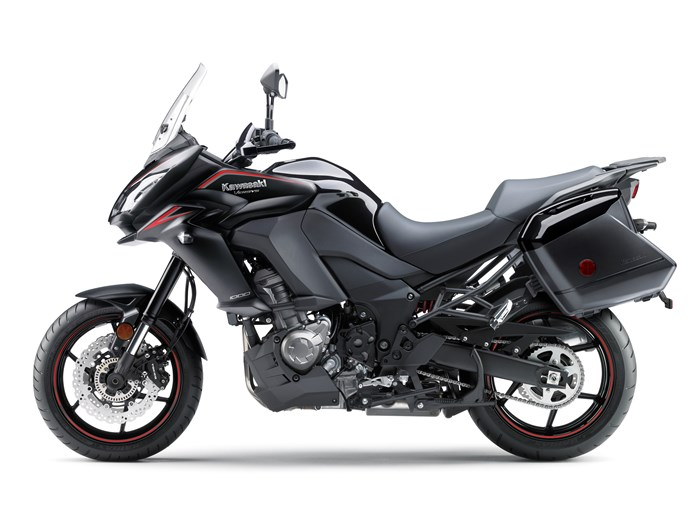 Kawasaki Versys 1000 review side view