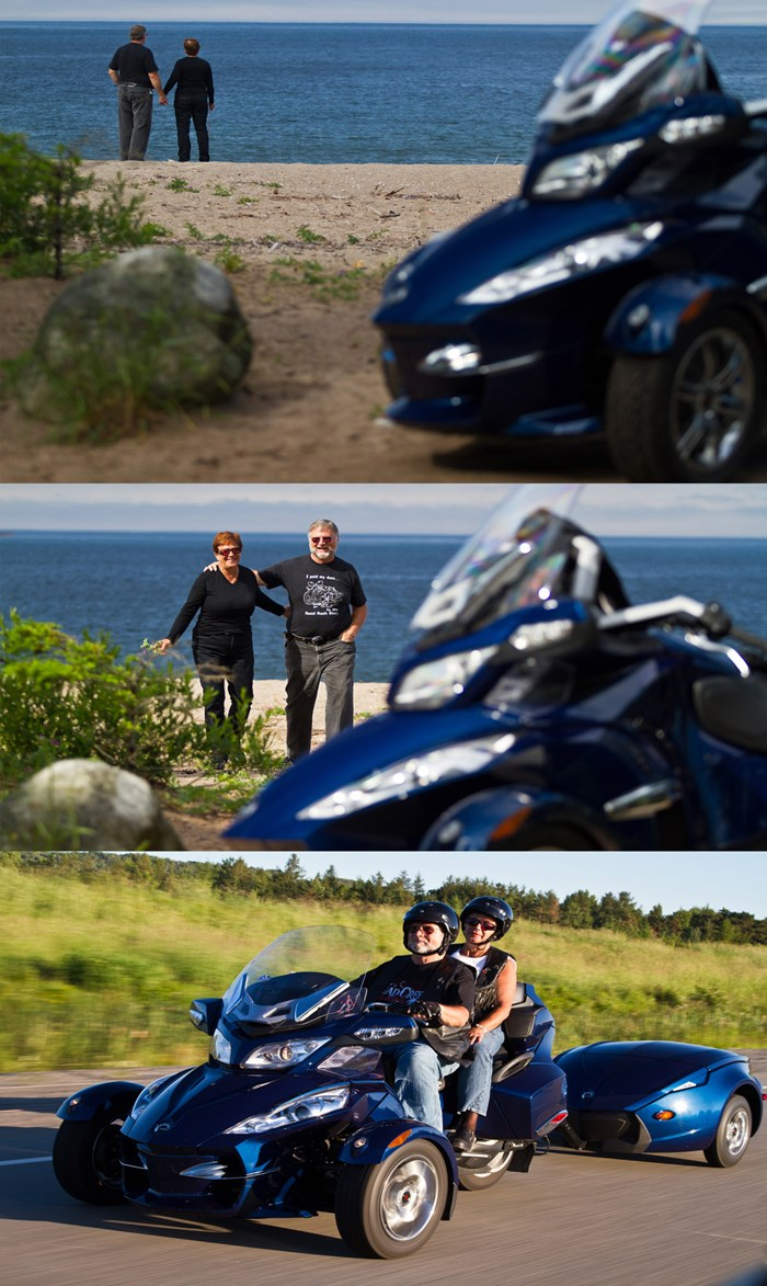 Ontario Motorcycle Touring Destinations for Couples Ride Lake Superior Agwa Bay Virgil Knapp