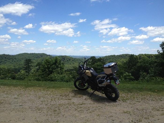 bmw f800 gsa scenery