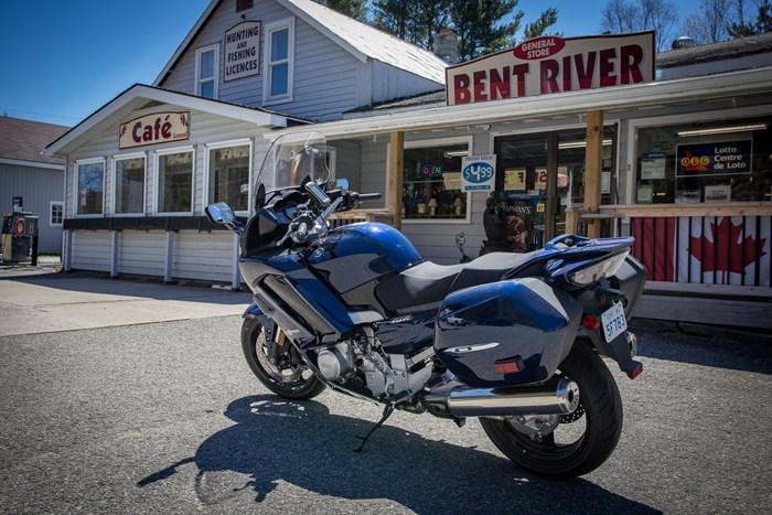 motorcycle touring bent river ontario