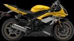 Yamaha YZF-R6 60th Anniversary Yellow / Black 2016