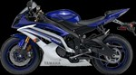 Yamaha YZF-R6 Deep Purplish Metallic Blue 2016