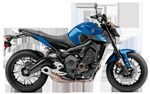 Yamaha FZ-09 Vivid Purplish Blue 2016