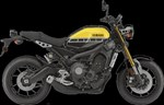 Yamaha XSR900 60th Anniversary Yellow 2016