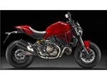 Ducati Monster 821 Red 2016