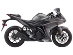 Yamaha YZF-R3 Matte Metallic Gray 2016