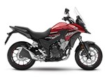 Honda CB500X Candy Rosy Red 2017