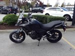 Honda CB500X Matte Gunpowder Black Metallic 2017