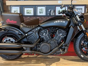 2021 Indian Motorcycle® Scout® Bobber Sixty ABS Thunder Black Sm