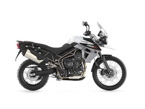 Triumph Tiger 800 XC Crystal White 2016