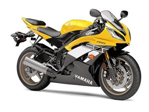 Yamaha YZF-R6 60th Anniversary Yellow 2016